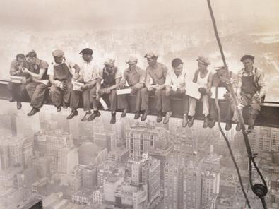 Charles Ebbets Lunchtime