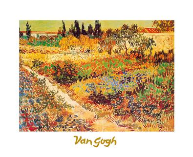 Vincent van Gogh Giardino in fioritura