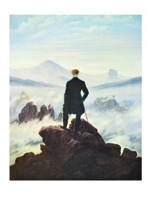Caspar David Friedrich Der Wanderer im Nebelmeer