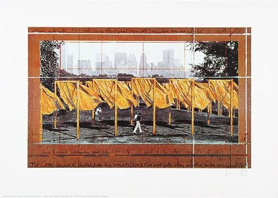 Christo und Jeanne-Claude The Gates II (1995)