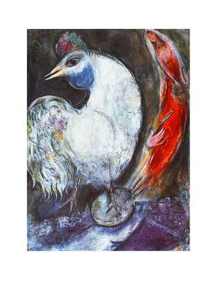 Marc Chagall Der Hahn