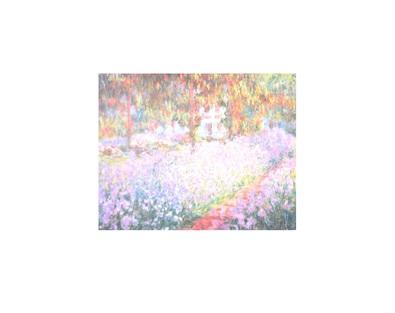 Claude Monet Der Garten von Monet in Giverny