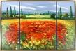Rhanavardka Madjid Landschaft Triptychon