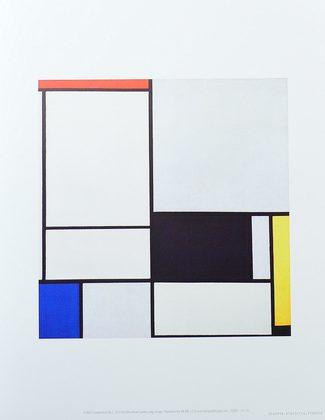 Piet Mondrian Composition No.2 1921