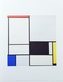 Mondrian piet composition no 2 1921 medium