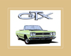 Chrysler historical prints 1968 plymouth gtx convertible 440 medium