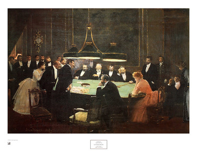 Jean Beraud The Game Room, 1889