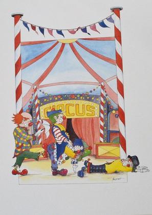 Haupert-Laub Clown IV