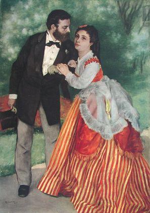 Pierre Auguste Renoir Das Ehepaar Sisley