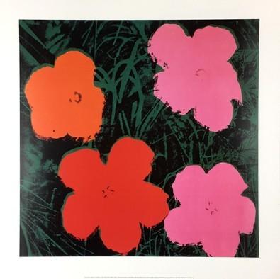 Andy Warhol Flowers I