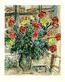 Marc Chagall Strauss vor Fenster, steinsigniert