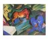 Marc franz rotes und blaues pferd 48447 medium