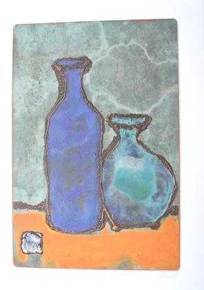 Dorothea Wenzel Duo blau