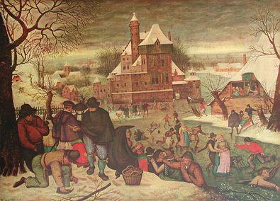 Pieter Brueghel Eislaeufer