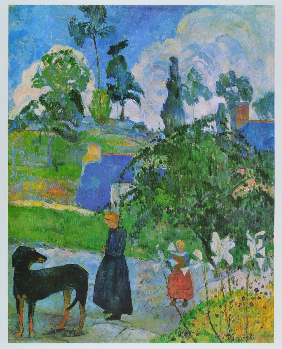 Kunstdruck Rupe Rupe von Gauguin Paul