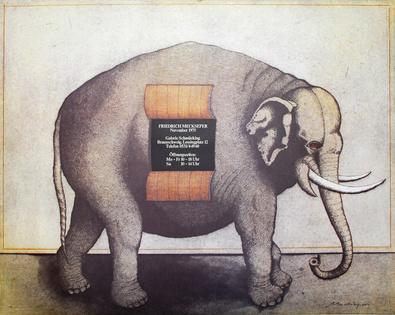 Friedrich Meckseper Elefant