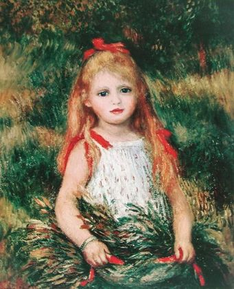 Renoir pierre auguste das maedchen mit der garbe large