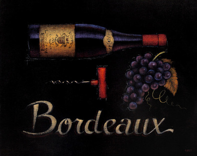 Emily Adams 4er Set 'Bordeaux' + 'Chardonnay' + 'Sauvignon Blanc' + 'Bourgogne'