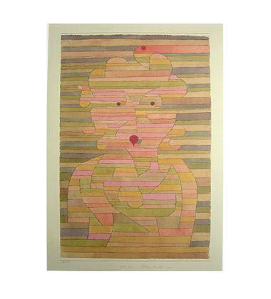 Paul Klee Bildnis Frau Gl