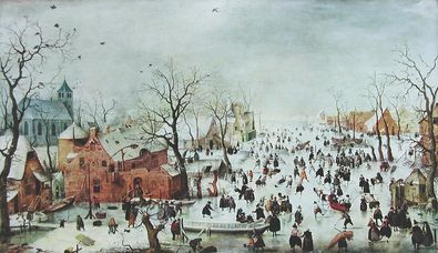 Hendrick Averkamp Winterlandschaft
