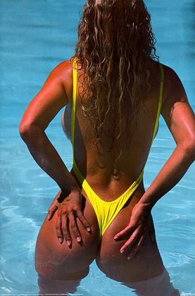Nicht bekannt Sexy Poster, Bikini
