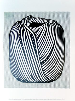 Roy Lichtenstein Ball of Twine 1963