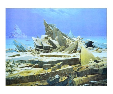Caspar David Friedrich Das Eismeer (gross)