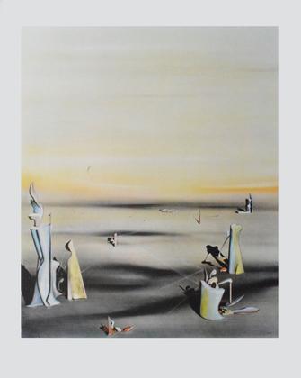 Yves Tanguy Die Luft in Ihrem Spiegel