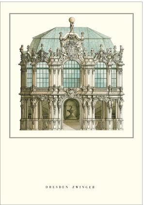 Matthaeus Daniel Poeppelmann Dresden, Zwinger