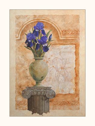 Gloria Eriksen 2er Set 'Bearded Iris' + 'Siberian Iris'