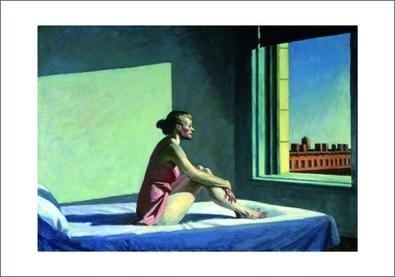 Edward Hopper Morgensonne 1952 Poster Kunstdruck Bei