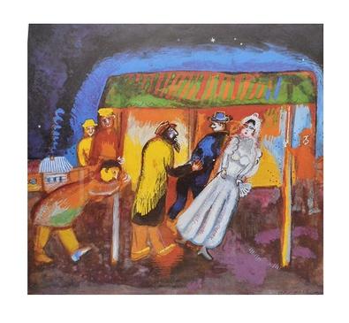 Chagall marc madame v large