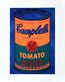 Warhol andy colored campbell s soup can 1965 blue orange medium
