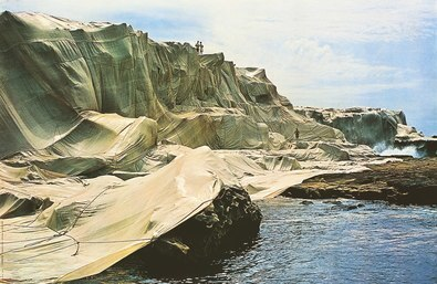 Christo Wrapped Coast 1969