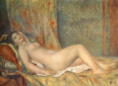 Pierre Auguste Renoir Ruhendes Maedchen