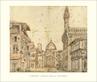 Baldassare Lanci Florenz, Piazza della Signoria, 1569