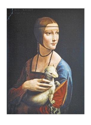 Leonardo da Vinci Dame mit dem Hermelin