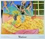 Matisse henri fruits fleurs panneau medium