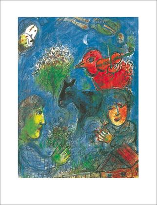 Marc Chagall L'ete