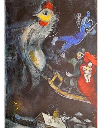 Marc Chagall Das fliegende Pferd