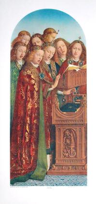 Jan van Eyck Die singenden Engel