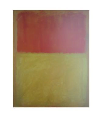 Mark Rothko Orange and Tan