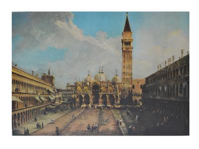 Antonio Canaletto Piazza San Marco in Venedig