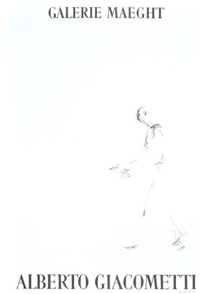 Alberto Giacometti Homme qui marche