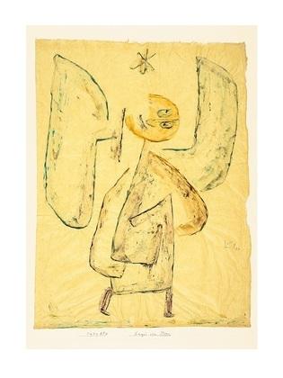 Paul Klee Engel vom Stern, 1939