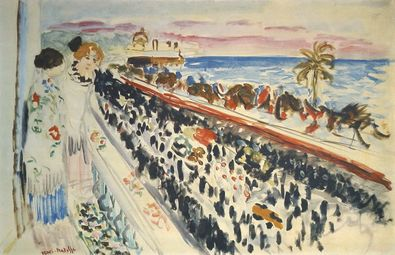 Henri Matisse Karneval in Nizza
