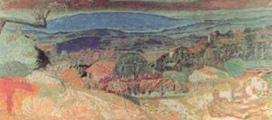 Bonnard pierre paysage du cannet large