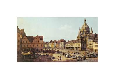 Canaletto Dresden Neumarkt
