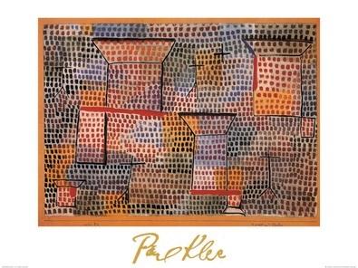 Paul Klee Kreuze und Saeulen