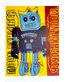 Warhol andy moon explorer robot 1983 blue yellow medium